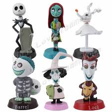 FREE SHIPPING Anime Cartoon Cute! 6x The Nightmare Before ...