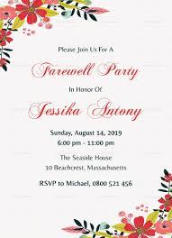 Farewell Party Invitations Templates Invitation Template