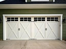 swing open garage door cool white swing open garage door design with dark glass on top swing open garage door
