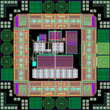 vlf receiver front end ic layout ic layout designer