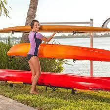 kayak storage rack plans diy outdoor wooden