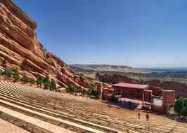 Red Rock Amphitheater Seating Chart Las Vegas Red Rocks Amphitheatre Concert Tickets And Seating View