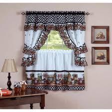 Primitive Curtains For Kitchen Kitchen Curtains Walmart Com Cottage Set Mason Jars Clipgoo