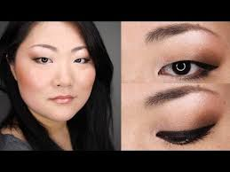 asian eye makeup monolid back to office everyday bronze makeup tutorial for asian