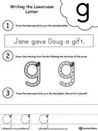 Jolly phonics is a fun and child centred approach to teaching literacy through synthetic phonics. Writing Lowercase Letter G Lower Case Letters Lowercase A Handwriting Worksheets