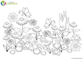 Kleurplaat Bloemen En Vlinders Colouring Pages Kleurplaten