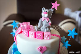Birthday Cake For Baby Boy And Girl Twins With Names Buy This