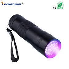 Torch Light Photos Us 1 95 Mini Portable Uv Flashlight Violet Light 9 Led Uv Torch Light Flashlight Invisible Ink Marker Detection Torch Light Uv Lamp In Led