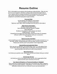 Sports Management Resume Samples Unique Scholarship Resume Examples ...