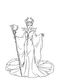 Small Picture The Evil Maleficent Coloring Pages Color Luna
