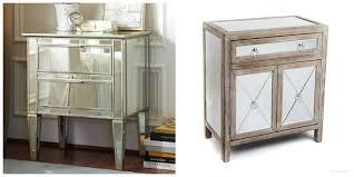 Pottery Barn Mirrored Furniture Bar Rustic Basement Bar Ideas
