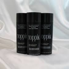 Details About Toppik Hair Building Fibers 55g Triple Pack Instantly Fills In Thinning Areas