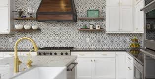 Tiles With Designs On Them The Kitchens New Design Darling Cement Tile Wsj