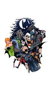 Batman Cartoon iPhone Wallpapers - Top ...