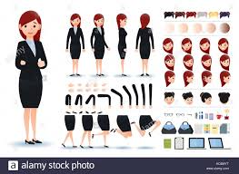 Cut Out Character Template Creation Kit Cut Out Stock Images Pictures Alamy