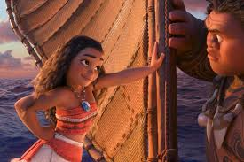 disney s moana tells an emotional funny story worthy of its moana and maui on moana s boat walt disney studios