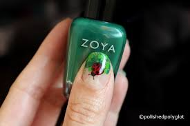Nail art │ Four leaves clovers and ladybugs [26GNAI] / Polished ...