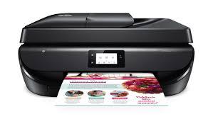 Hp Officejet 5252 Wireless All In One Color Inkjet Printer Instant Ink Ready Walmart Com