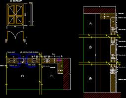 bifold door dwg detail for autocad designs cad