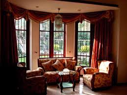 Imposing Living Room With Architecture Designs Kitchen Bay Window Treatment  Window Treatments In Bay Windows in