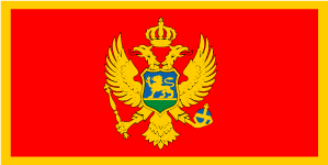This flag quiz game tests you on 38 of the most recognizable flags in europe, but they're not exactly what you'd call unique. Montenegro Flag The Map Shop