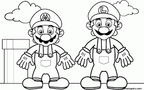 Searching for a coloring page? Super Mario Coloring Page Coloring Home