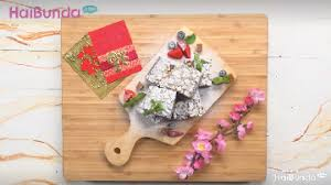 Serta rukun, bulat tekad dalam. Resep Brownies Kue Keranjang Kreasi Istimewa Di Tahun Babi Tanah