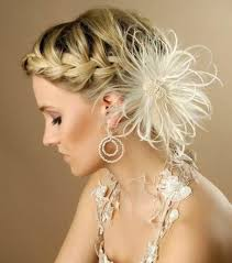Image Coiffure Mariage Cheveux Longs Chignon Tresse Coiffure