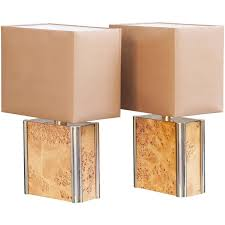 Set Of Two Table Lamps Milo Baughman Table Lamps 5 For Sale At 1stdibs