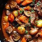 boeuf bourguignon for the crock pot