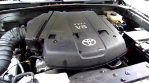2003 Toyota 4Runner 4.0 Liter 1GR-FE V6 Engine After Oil Change ...