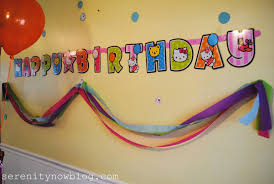 Small Picture Birthday Party Decorations At Home Inexpensive neabuxcom
