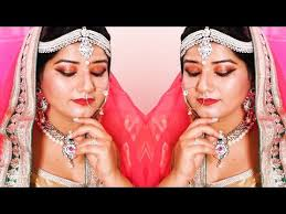 क स कर घर पर ब र इडल म कअप how to do indian bridal make on our own