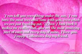 Valentine Quotes For Friends Awesome Valentines Day Messages For Friends