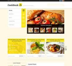 Cookbook Website Template 32 Awesome Restaurant Themes Wordpress Psd