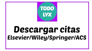 6 Descargar Citas Sciencedirect Wiley Springer Y Acs Download Citations Escribe Tu Tesis