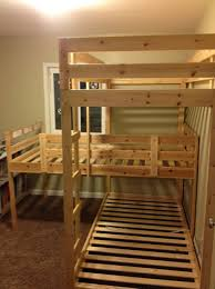 Awesome Diy Triple Bunk Beds Plans Photo Design Inspiration ...
