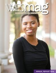 WESmag Winter 2018 by Wesleyan College - issuu
