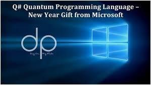 Q Quantum Programming Language Ny Gift From Microsoft Quantum