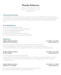 Objectives For A Medical Assistant Resume Personal Assistant Resume