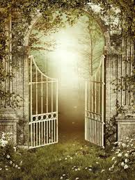 old garden gates for gate with ivy stock ilration of background 20547372 wooden uk old garden gates
