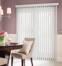 sliding door vertical blinds. Blindsgalore® Vinyl Vertical Blinds Shown In Light Gray Sliding Door Blindsgalore