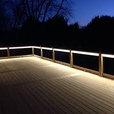deck lighting. Deck Lighting Done C