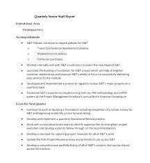 Quarterly Business Review Template Evaluation Presentation Form Of