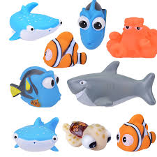 <b>1PCS New Baby</b> Bath Toy Animal Squeeze DebblingToys Float ...