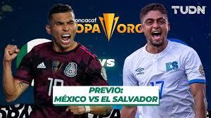 LIVE | Mexico vs El Salvador – Gold Cup ...