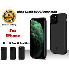 Ốp Kiêm Pin Sạc Dự Phòng IPhone 11 Pro Max (Màu đen)
