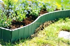 plastic edging for garden garden fence kerb lawn edging boarder edge fencing plastic 5 plastic garden edging roll bunnings