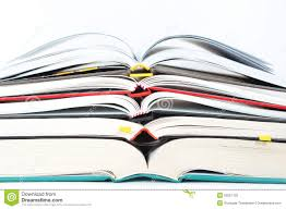 stack of open books stock photo image of page information 53251132