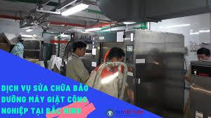 Dịch vụ sửa chữa bảo dưỡng máy giặt công nghiệp tại Bắc Ninh - Máy Giặt  Công Nghiệp